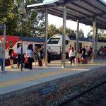 Estación de Lorca Sutullena. Cercanías y Talgo