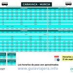 Horarios-MURCIA-CARAVACA-21_SEPTIEMBRE